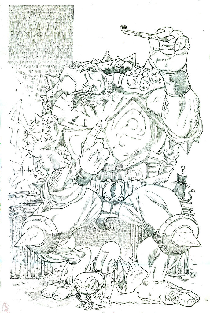 """""""tOkKa and Mouser # M0S-33, MOUSEE the Mouser""""  ..by Andres Ponce   (( 2009 )) by tOkKa"""