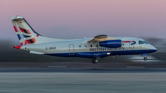 Sun Air Scandinavia Do328 Jet