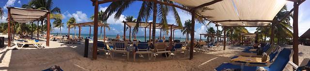 Relaxing in Costa Maya