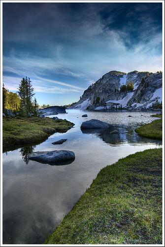 sunset reflections nikon cascades enchantments d40 perfectionlake 1855mmf3556gii runelake