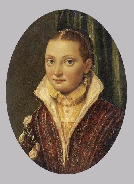 Lucia Anguissola - portrait of Sofonisba Anguissola (1560-65)