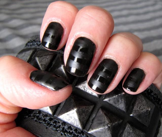Black On Black Matte About You One Coat Opi S Black O Flickr