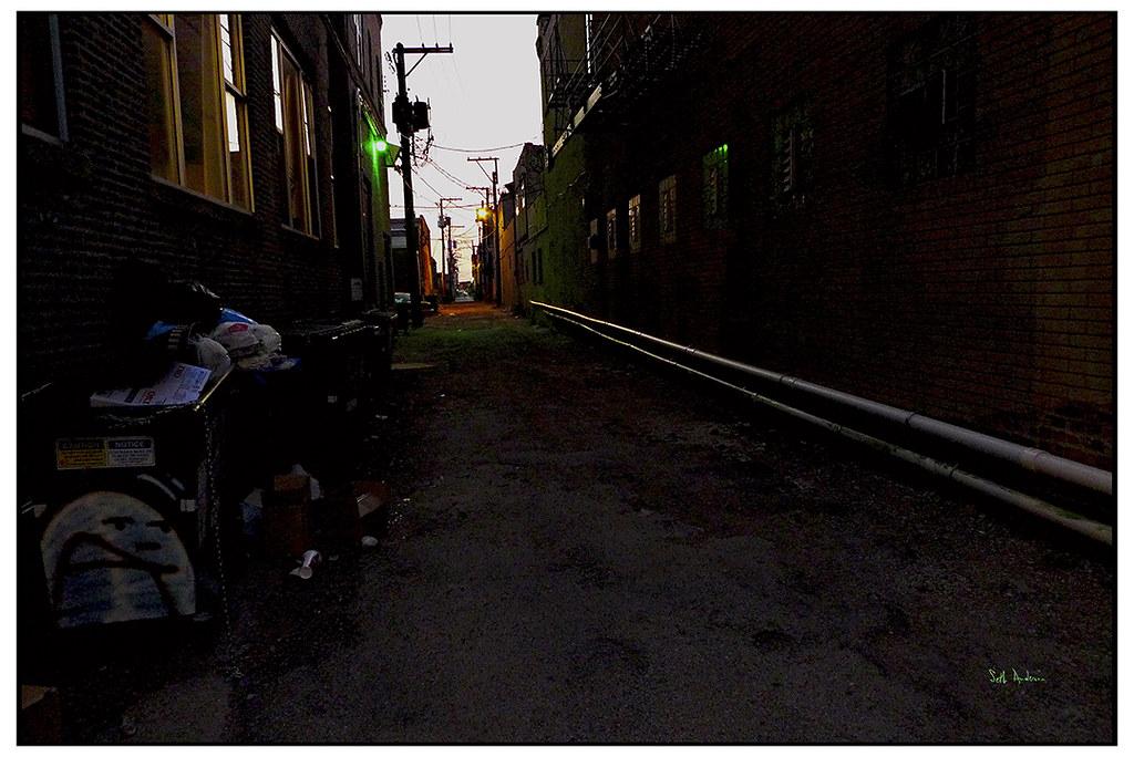 Urban Passageway by swanksalot