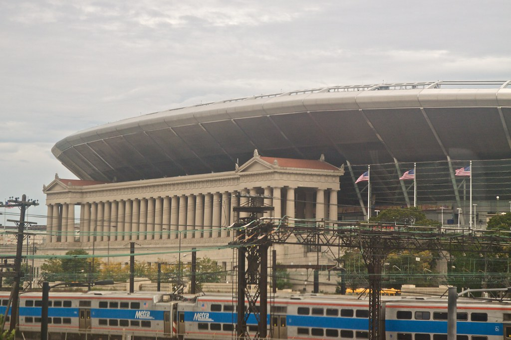 I will never get over how ugly they made Soldier Field by ragfield