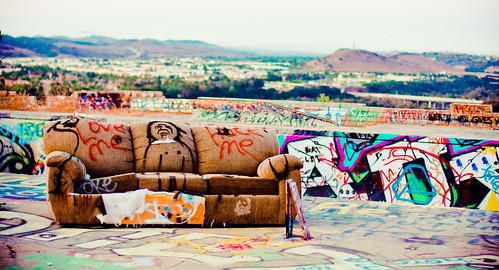 california morning mountains abandoned pool sunrise graffiti early photoshoot grunge hills couch textures colourful orangecounty epic grungy sarahlee legothenego vivantvie pleasedontaskmewherethisplaceislocated