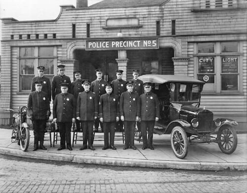 Seattle Police Department, Precinct 5, 1921 | by Seattle Municipal Archives