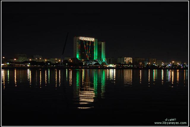 فندق تبستي Tbsti Hotel Benghazi Libya Night Ibrahim Al Agouri
