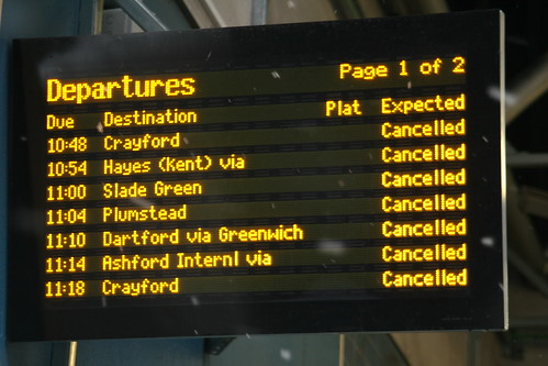 Delays at Cannon Street | by piblet