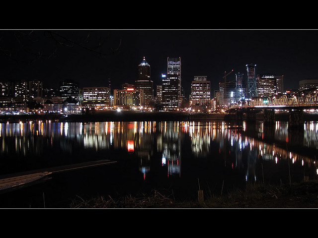 Portland Oregon Skyline 1