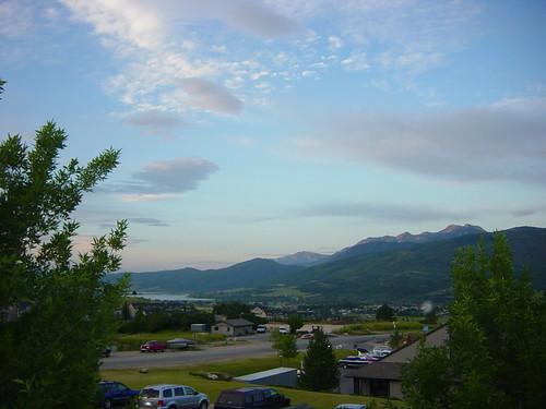 morning mountains sunrise condo wolfcreek utahtrip pineviewreservoir july16thrujuly282009