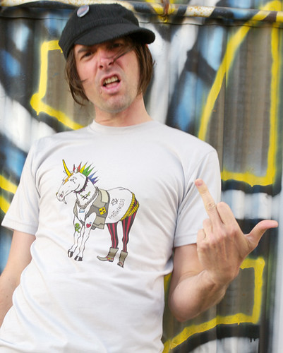 Punk Rock Unicorn Shirt