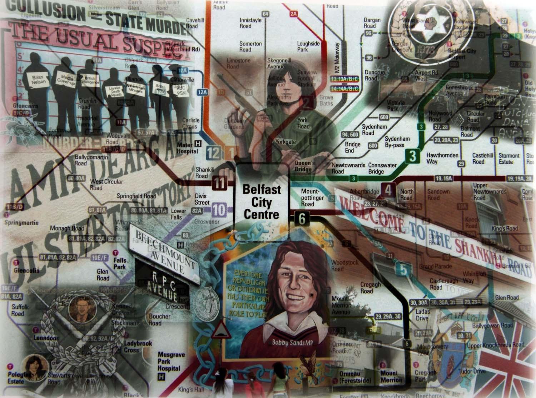 Belfast,Falls,Shankhill,road,montage,northern,irish,ireland,bus,map,transport,gb,british,united,Eire,city,centre,rpg,avenue,ulster,red,hand,defender,defenders,bus map,belfast bus map,translink,ulsterbus,belfast maps,metro,service,europa,station,bus station,tourist,NI,n ireland,north ireland,emerald,isle,tonysmith,tony,smith,redhand,sectarian,peace,province,hotpix!,#tonysmithhotpix