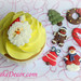 Gorgeous Christmas Cupcake Decorations