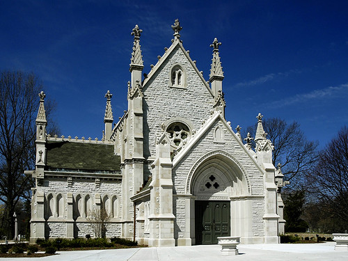 Gothic Chapel at Crown Hill | by Crown Hill Cemetery