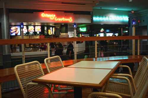 wood blue orange mall shopping table dead restaurant neon texas chairs corpuschristi empty arcade seating foodcourt orangejulius sunrisemall dyingmall orangecreations