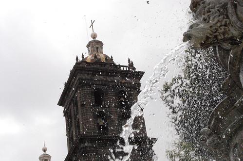 """P9120364 El """"Templo del Dolor"""" escenario de los Aztecas de la UDLAP por LAE Manuel Vela"""