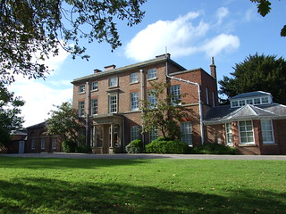 The Mount, Darwin's childhood home in Shrewsbury - 9 May 2009