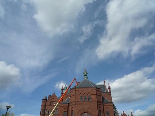 Crouse College Sky Slice