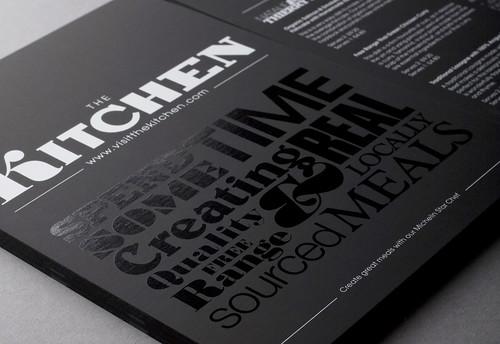 The Kitchen Flyer | Design Friendship | by bobeightpop