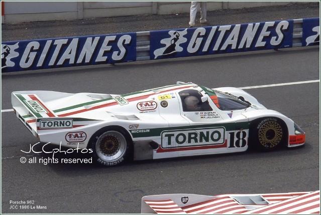 24 Heures du Mans 1986 Porsche 962 C