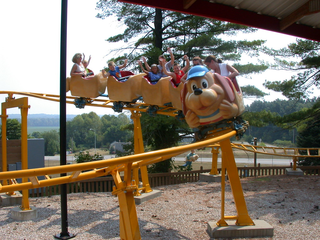 Image result for photos of holiday world holidog funtown