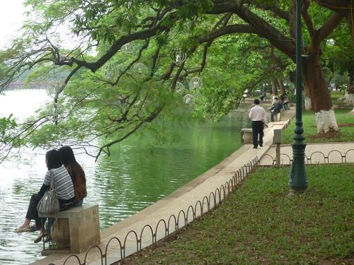 Around Hoan Kiem lake | by In Vinnie Veritas