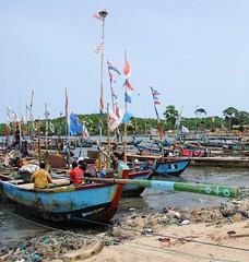 Dixcove fishing village