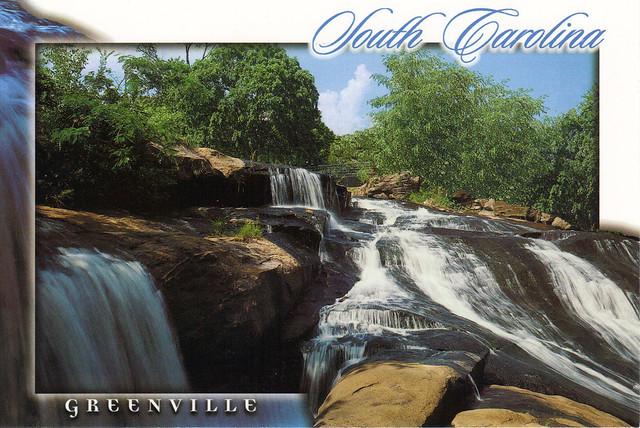 Greenville, South Carolina Postcard