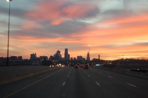 skyline sunrise kansascity