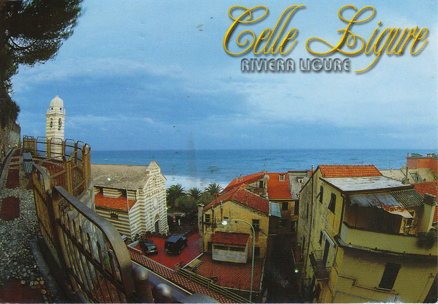 Celle Ligure, Italy Postcard