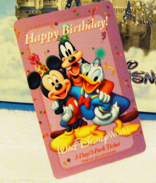 Free Birthday Return Pass to WDW