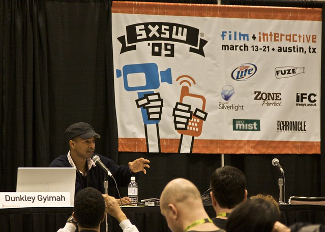 Video Journalism Panel at SXSW 2009