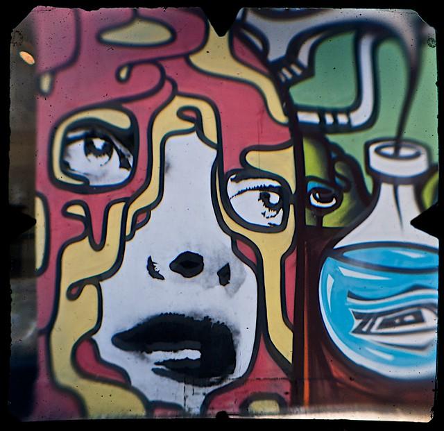 Street Art, Young Street, Fitzroy, Melbourne  (TTV-090319-2139-H)