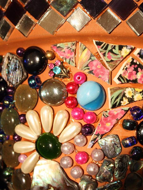 flowerpot mosaic