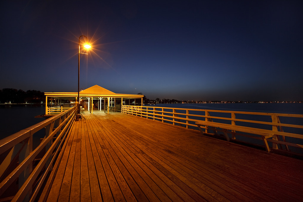 Shorncliffe Pier at Twilight