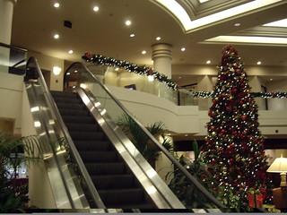 Lobby of Tower Center Hilton