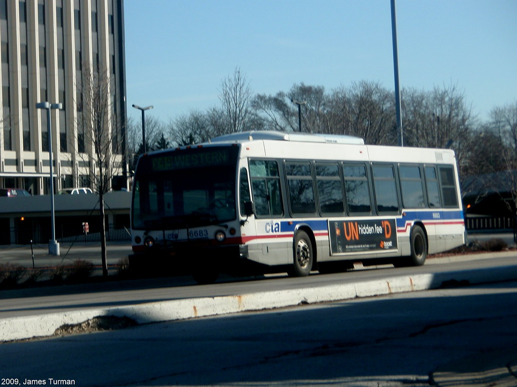 CTA BUS 6683 | CTA 6683 on the X49 Western Ave Express Route
