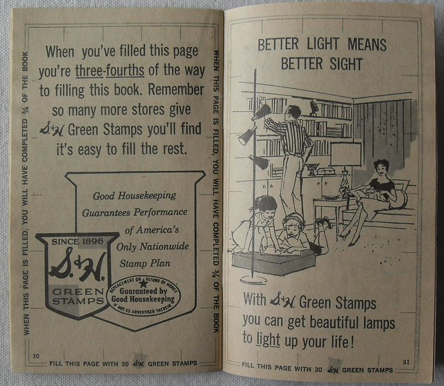 S & H Green Stamps Booklet 4
