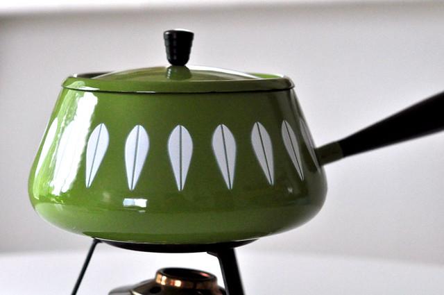 Cathrineholm Olive Fondue Pot