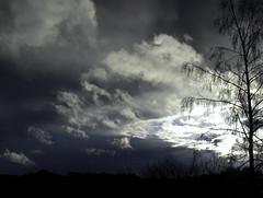 Dark Clouds Hanging In The Sky II