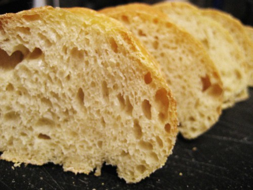 sliced baguette | by Stacy Spensley