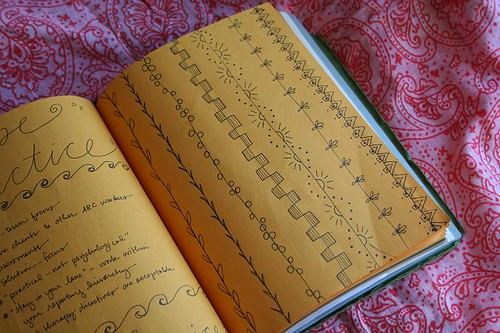 Stitches in the journal | by turning*turning