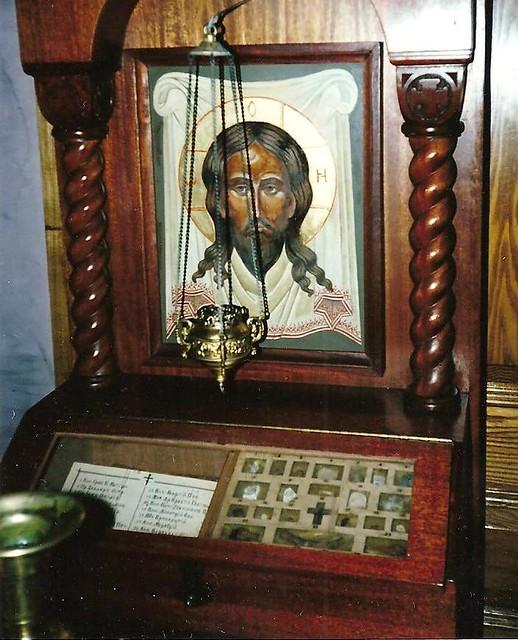 Holy Relics-St.Nicholas Russian Orthodox Church,N.Y.City