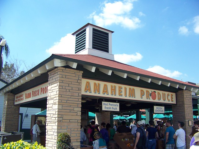Disney's Hollywood Studios - Anaheim Produce
