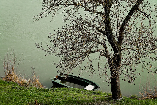 Barque solitaire