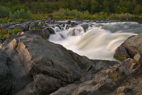 sunset oregon river nikon d200 rogue rainyfalls