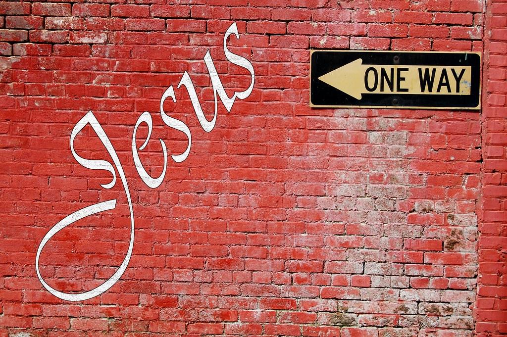 Jesus One Way Christian Wallpaper Desktop Background