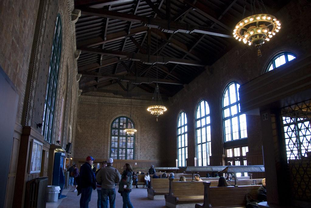 Exterior: Poughkeepsie Train Station Interior3