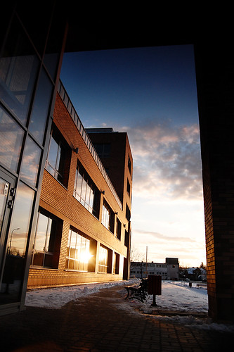 windows winter sunset sky snow building brick architecture university poland warsaw portfolio nikkor warszawa archtecture cardinalis uksw 1855mmf3556gii ceibi