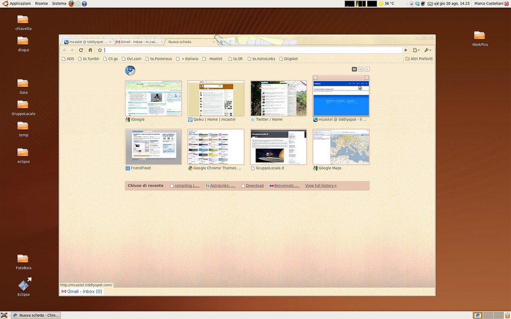 Chromium @ Ubuntu | Chromium installation on my Ubuntu box | Marco